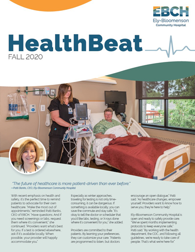 EBCH HealthBeat Fall 2020